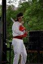 Johhny Dysfunctional performs as Elvis