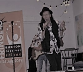 Johnny Dysfunctional performs at Buxton Fringe Party
