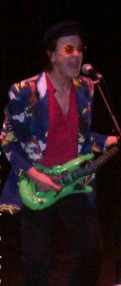 Jounny Dysfunctional performs as John Lennon